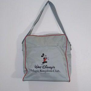 Walt Disney Magic Kingdom Club bag grey & red